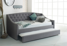 Load image into Gallery viewer, Flair Furnishings Sofa Bed with Trundle Grey