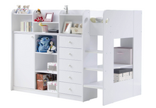 Load image into Gallery viewer, Flair Furnishings Wizard Junior High Sleeper Storage Station