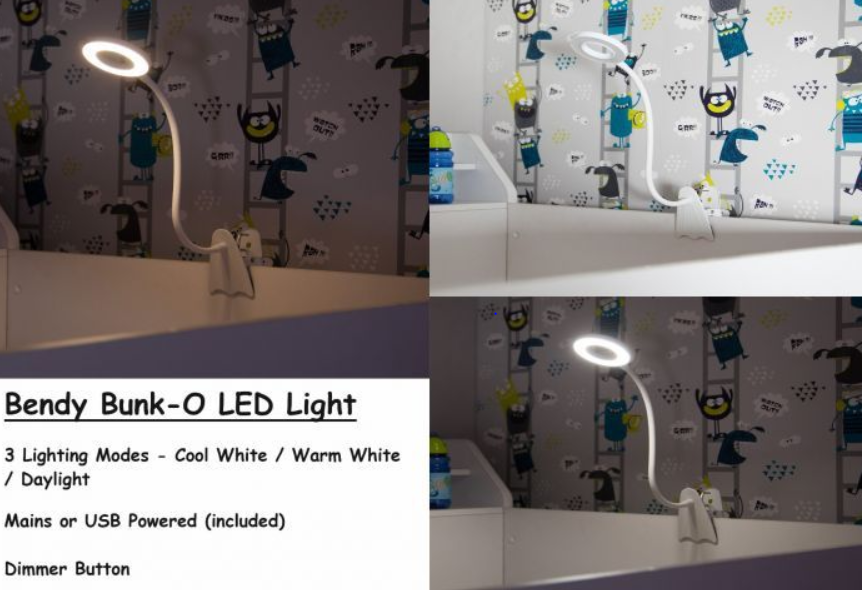 Bendy Bunk-O LED Clip On Light (NOT SOLD SEPERATLEY)
