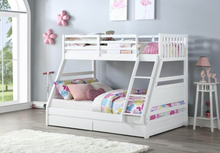 Load image into Gallery viewer, Flair Furnishings Triple Ollie Bunk Bed Grey
