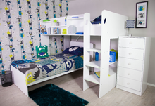 Load image into Gallery viewer, Flair Furnishings Wizard Junior L Shaped Bunk Bed