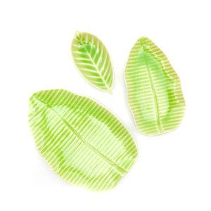 Banana Leaf Plate Medium - Green