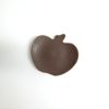 Apple Plate - Brown