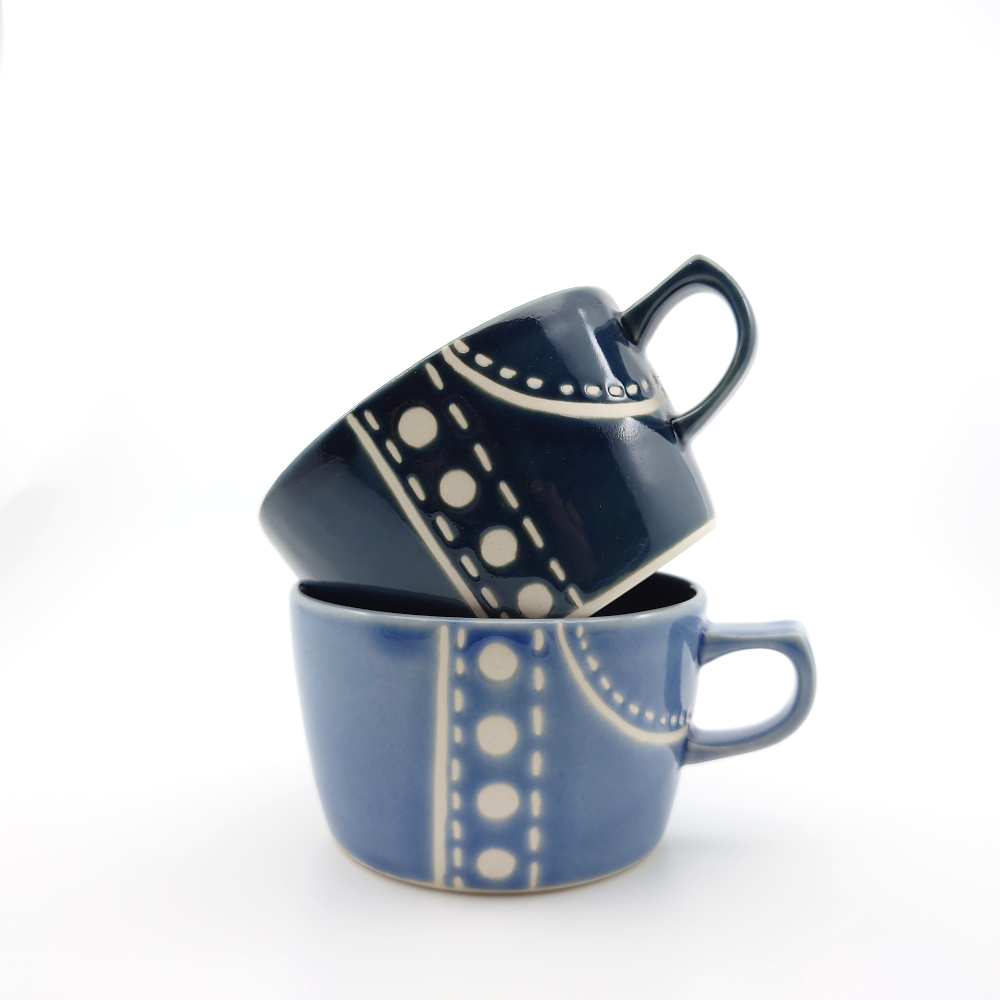 Denim x Pants Soup Mug 450ml - 2 Colours
