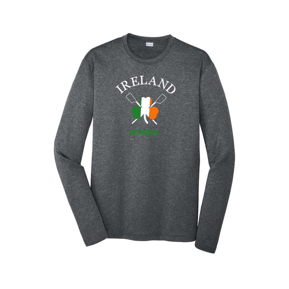 Performance Long Sleeve Ireland Rowing Heather Gray