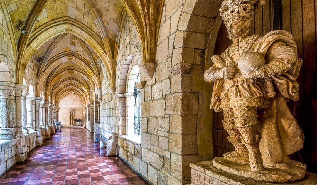 The Ancient Spanish Monastery