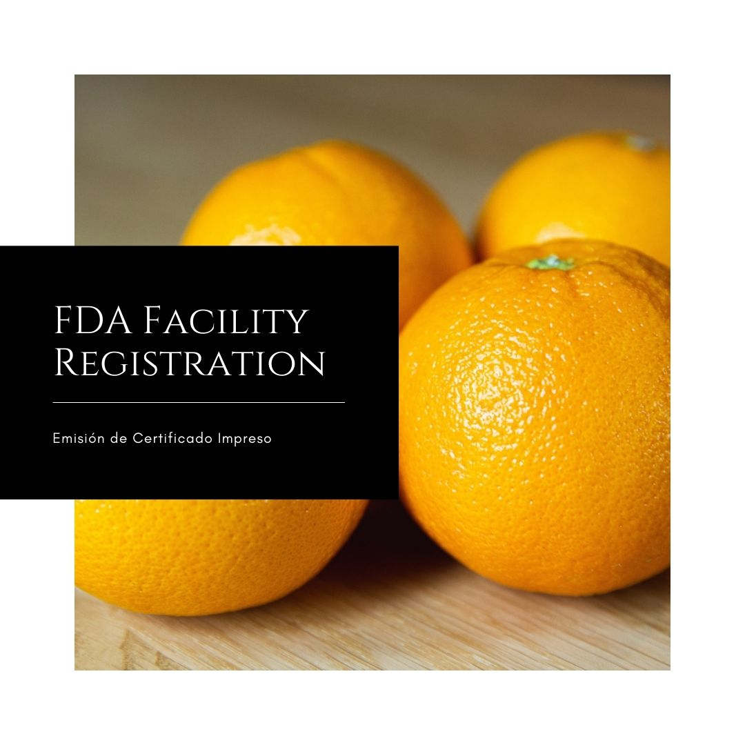 FDA Facility Registration - U.S. Agent at the FDA - 4qui
