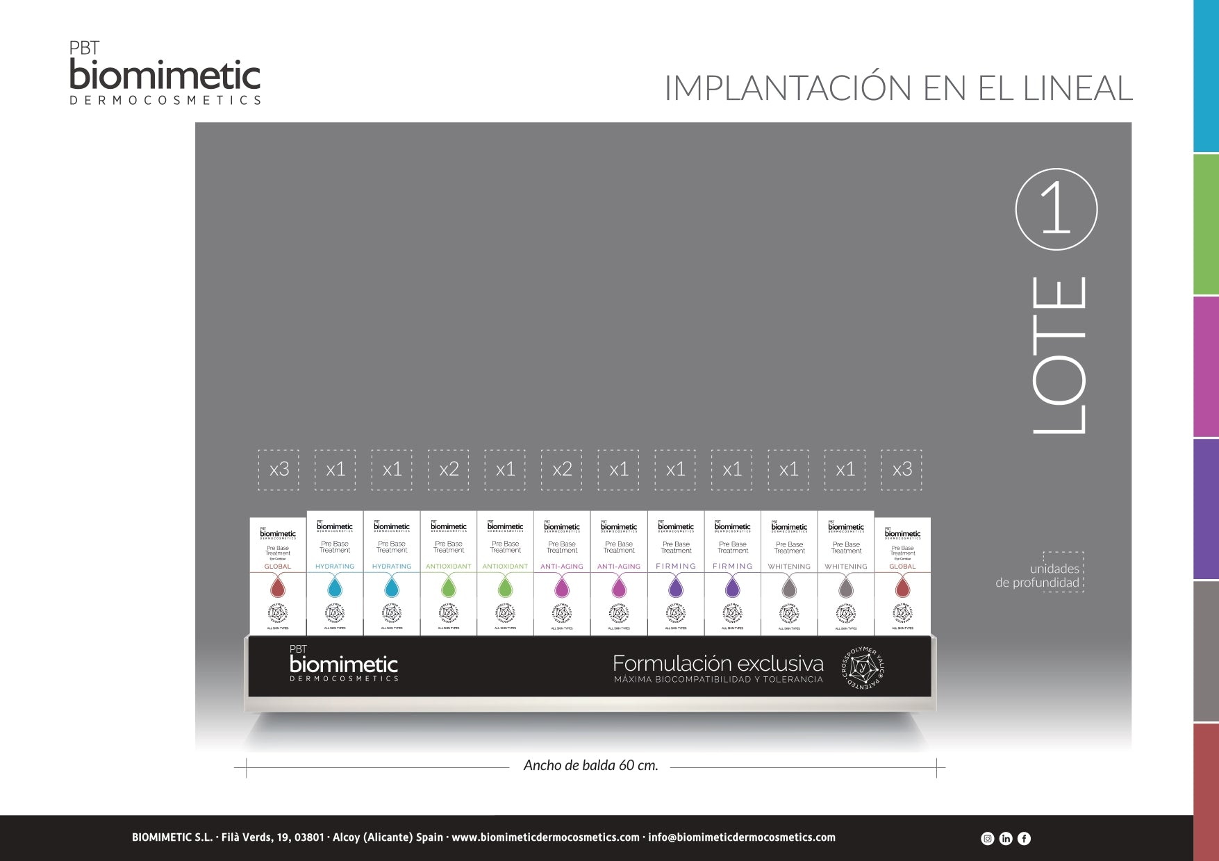 Lote 1 Biomimetic - 4qui