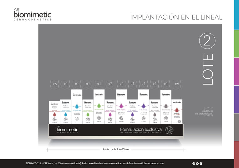 Lote 2 Biomimetic - 4qui
