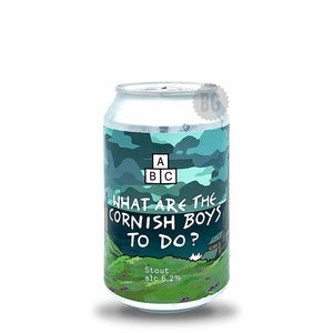 Alphabet Brewing What Are The Cornish Boys To Do? Stout | Buy Craft Beer Online Now | Beer Guerrilla