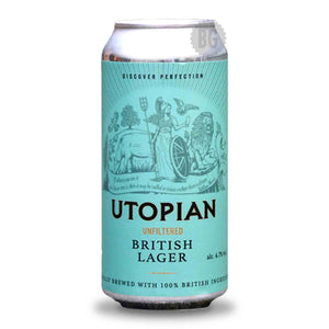 Utopian Unfiltered Lager