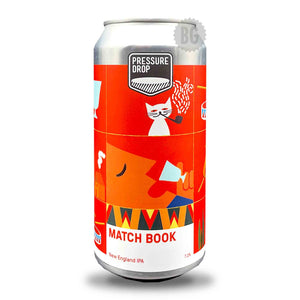 Pressure Drop Matchbook NEIPA