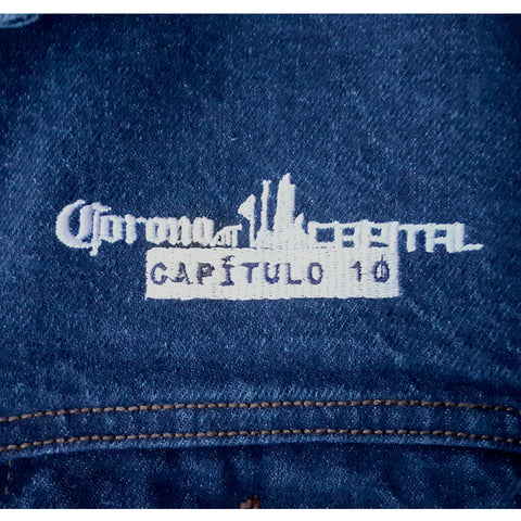 Chamarra Corona Capital 2019 (Tipo Denim)