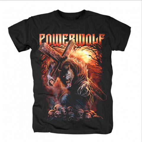 Image of Playera Powerwolf Metal is Religion