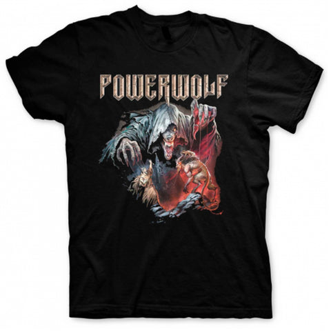 Image of Playera Powerwolf Metal Masses