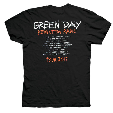 Playera Green Day Revolution Radio