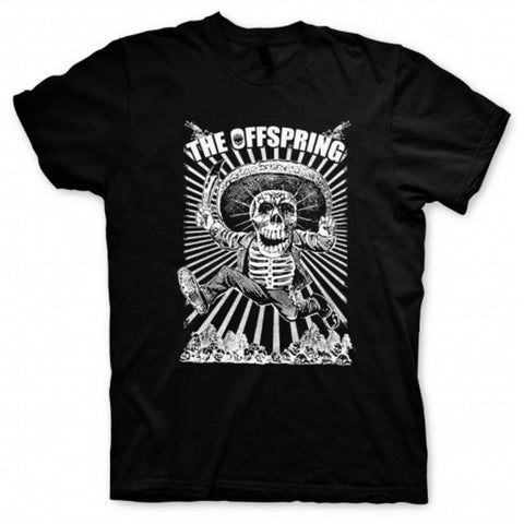 Playera The Offspring Black Skull