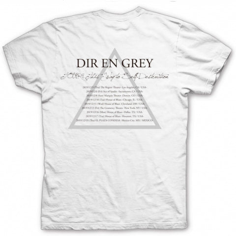Playera Dir En Grey Tour 2019 Tour