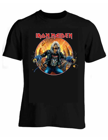 Playera Iron Maiden Comic