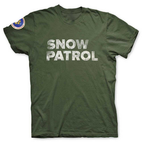 Image of Playera Snow Patrol Militar