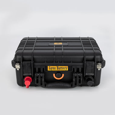 Lithium Iron Phosphate Portable Power Battery Bank, 12V, 200AH With Built-in BMS & Charge Port