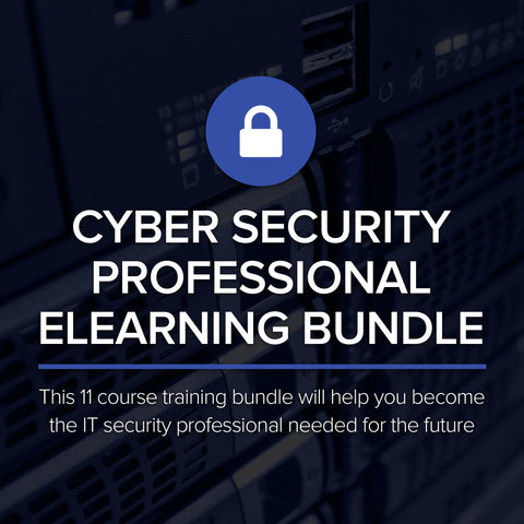 "Take An Extra 10% Off With Code ""Security2020 "" Act Fast Offer Valid Through 10/31/20 For This Cyber Security Professional eLearning Bundle"
