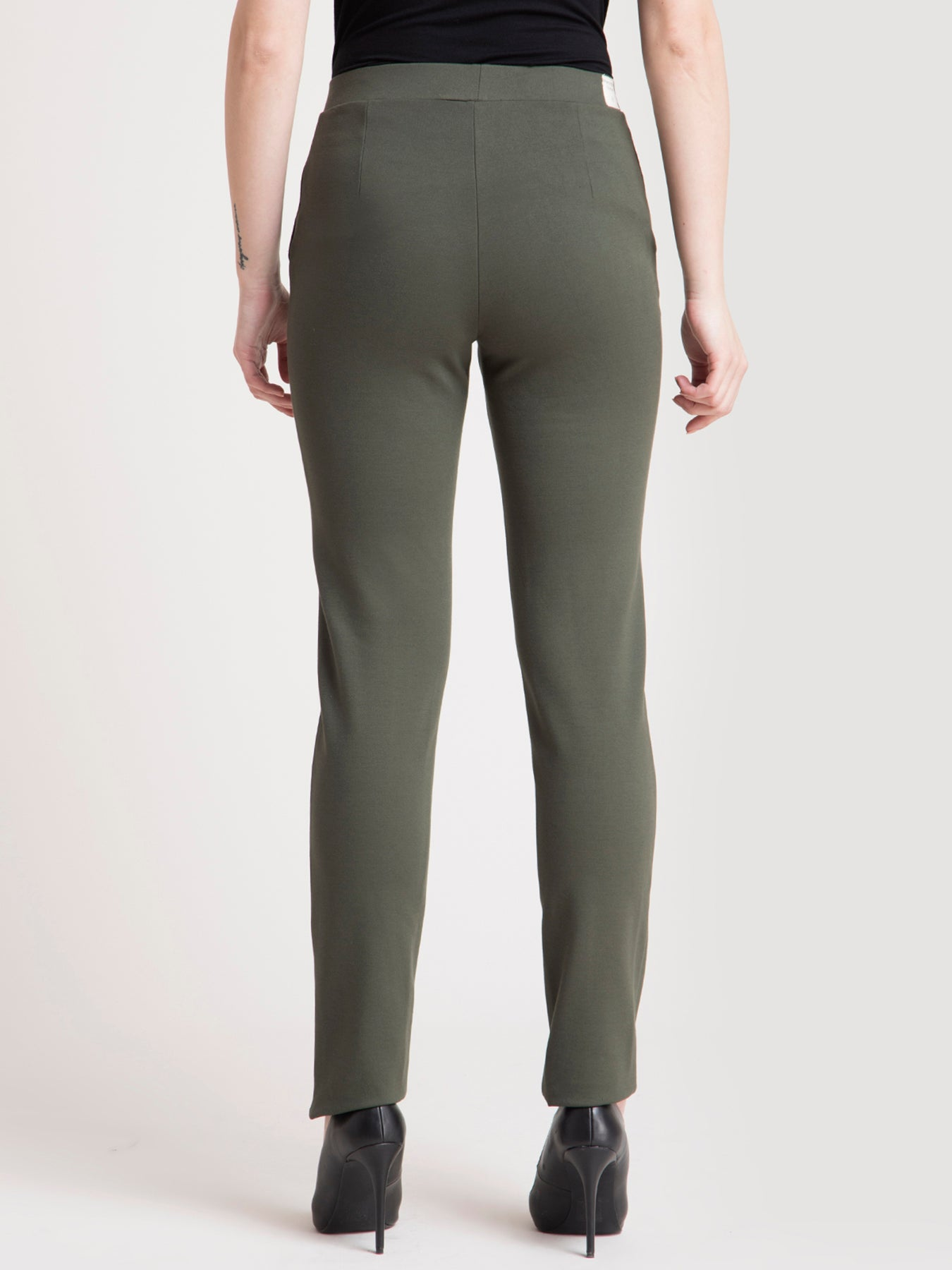 4 Way Stretch LivIn Pants - Olive