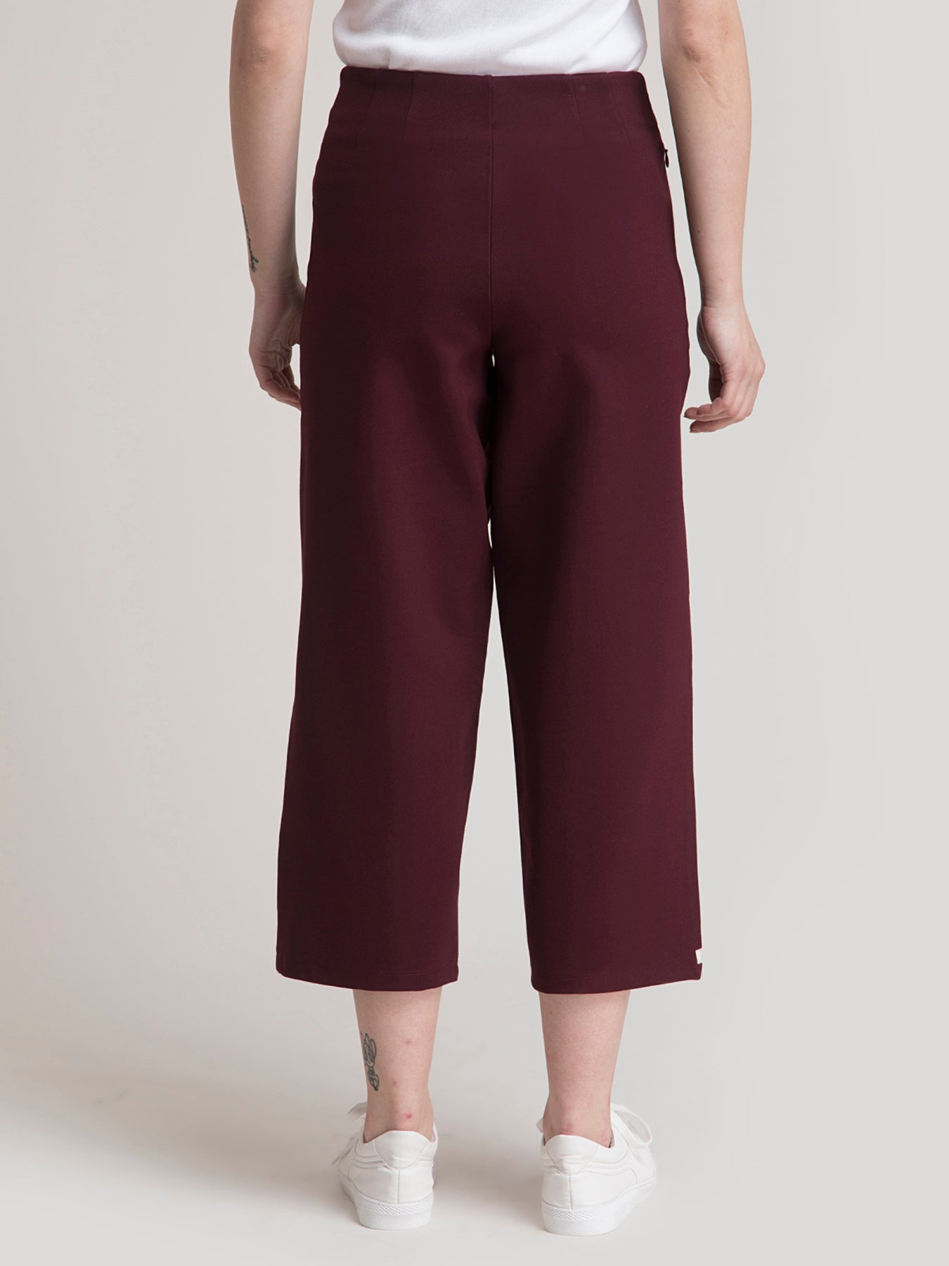 Stretchable LivIn Culottes - Pack of 2