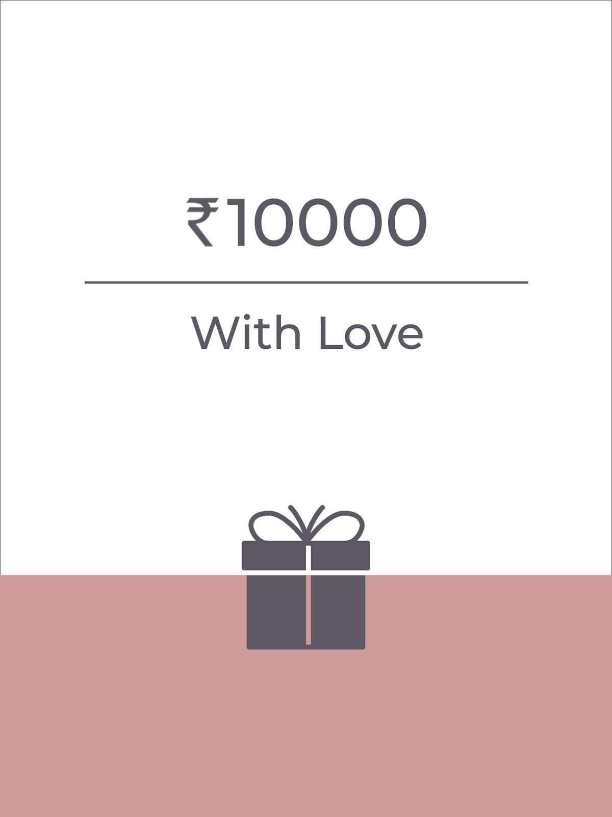 FS Gift Card (Rs 10,000)