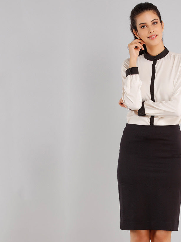 Classic Pencil Skirt - Black