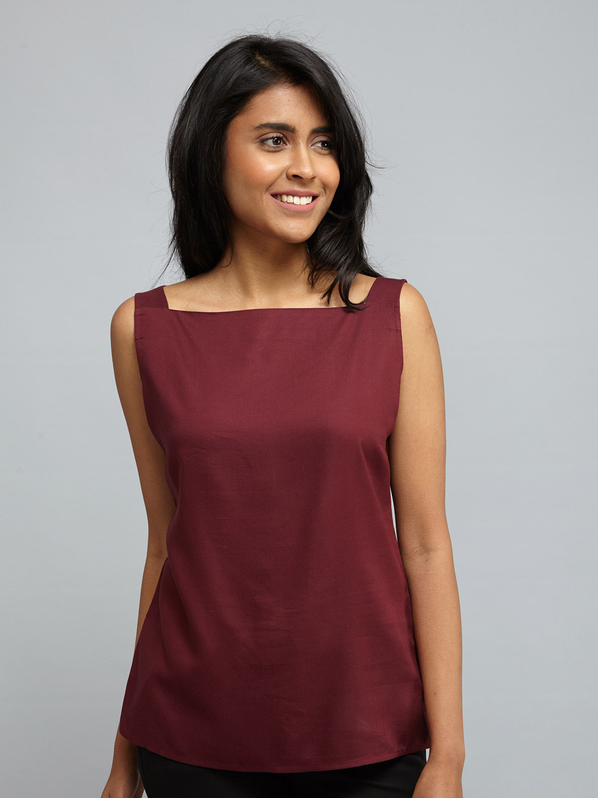Two Way Camisole - Maroon