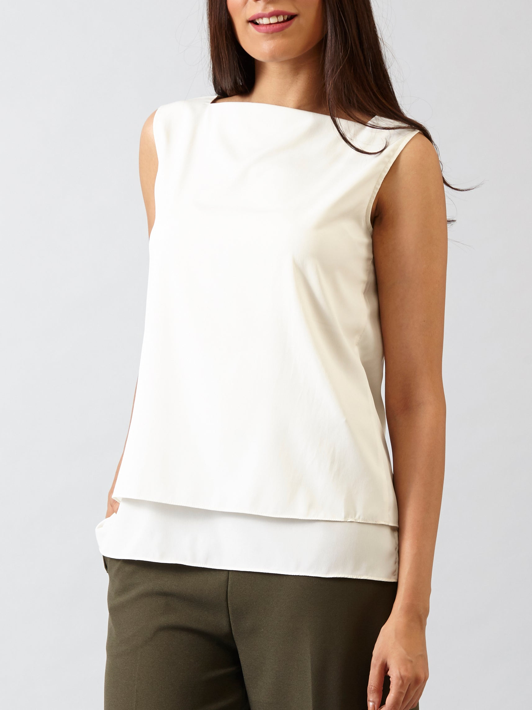 Wear It Two Ways Top - Off White