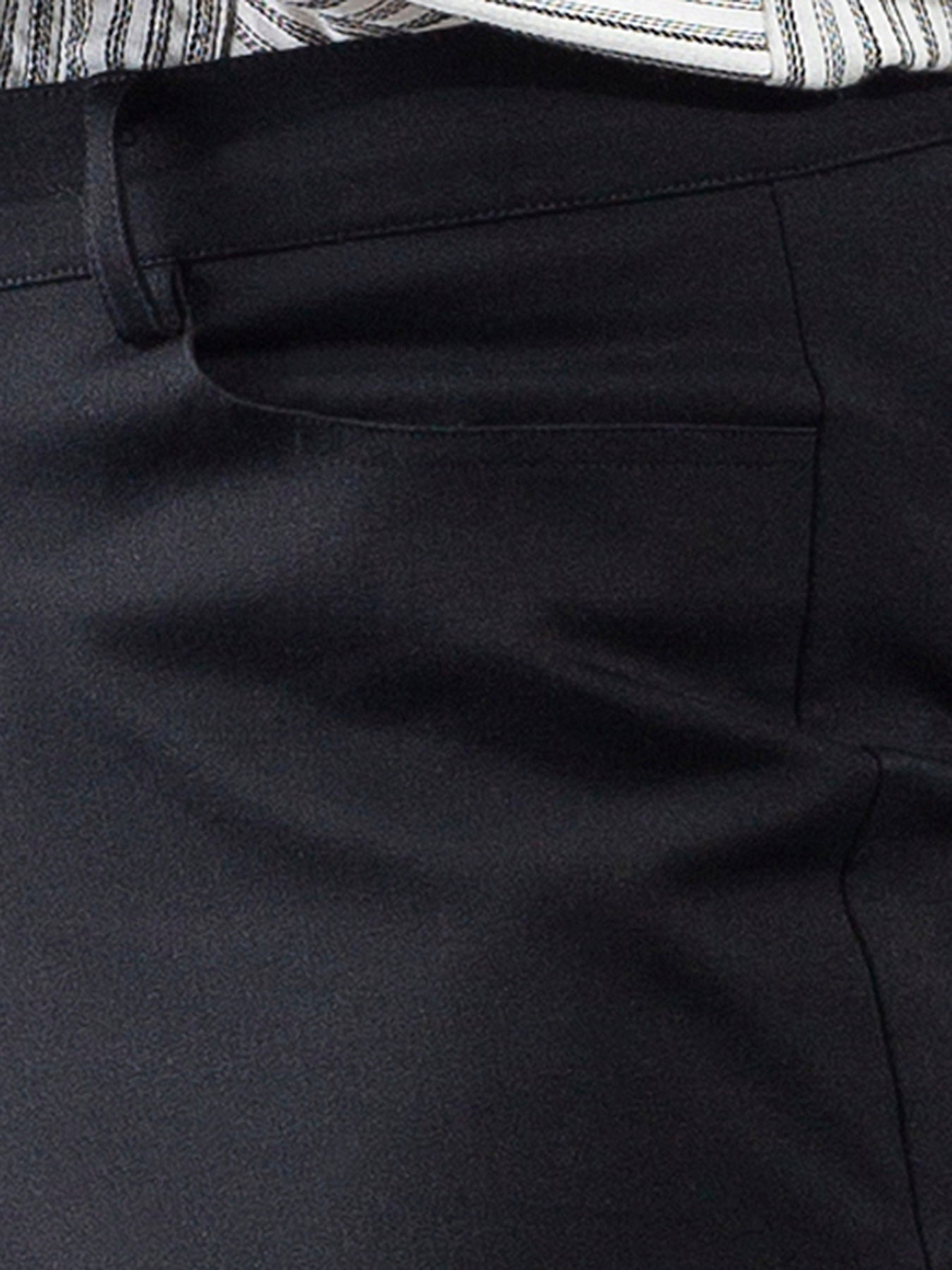 Essential Comfort Trousers - Black