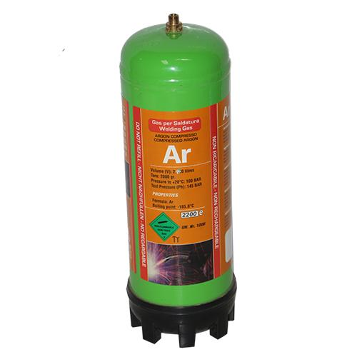 10-MAXARG MAX ARG Dispoable Gas Cylinder