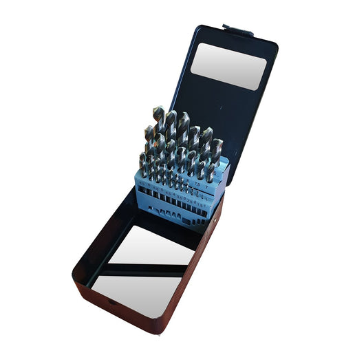 Javelin 25 Piece Fully Ground Drill Bit Set