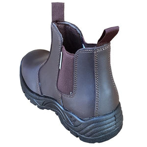 Pinnacle AUSTRA Safety Boots - Chelsea Brown