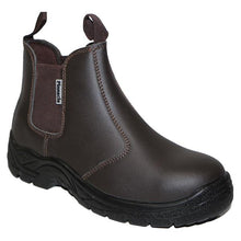 Load image into Gallery viewer, Pinnacle AUSTRA Chelsea Brown Safety Boots