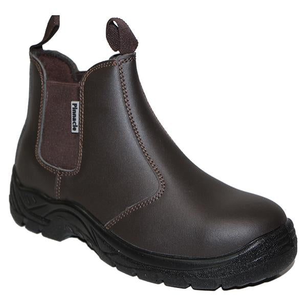 Pinnacle AUSTRA Chelsea Brown Safety Boots