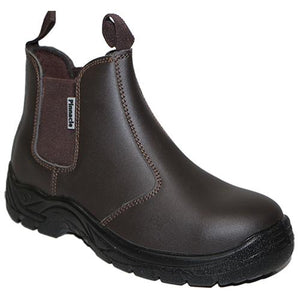 AUSTRA Chelsea Brown Safety Boots