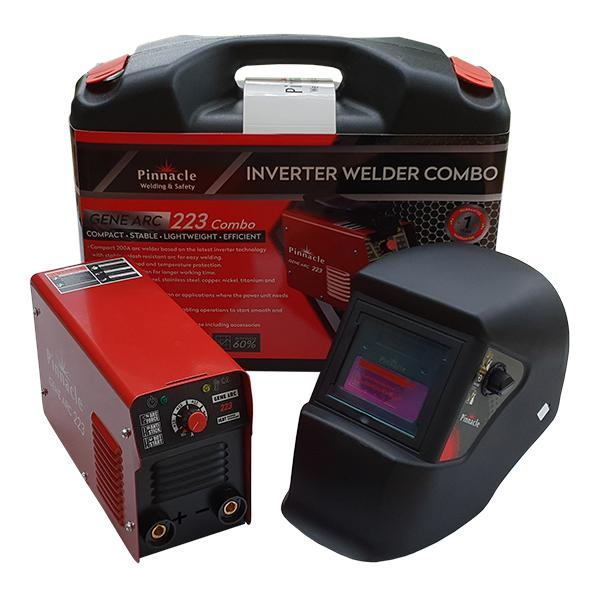 Pinnacle Gene ARC 223 Welding Machine Combo Kit 200 Amp