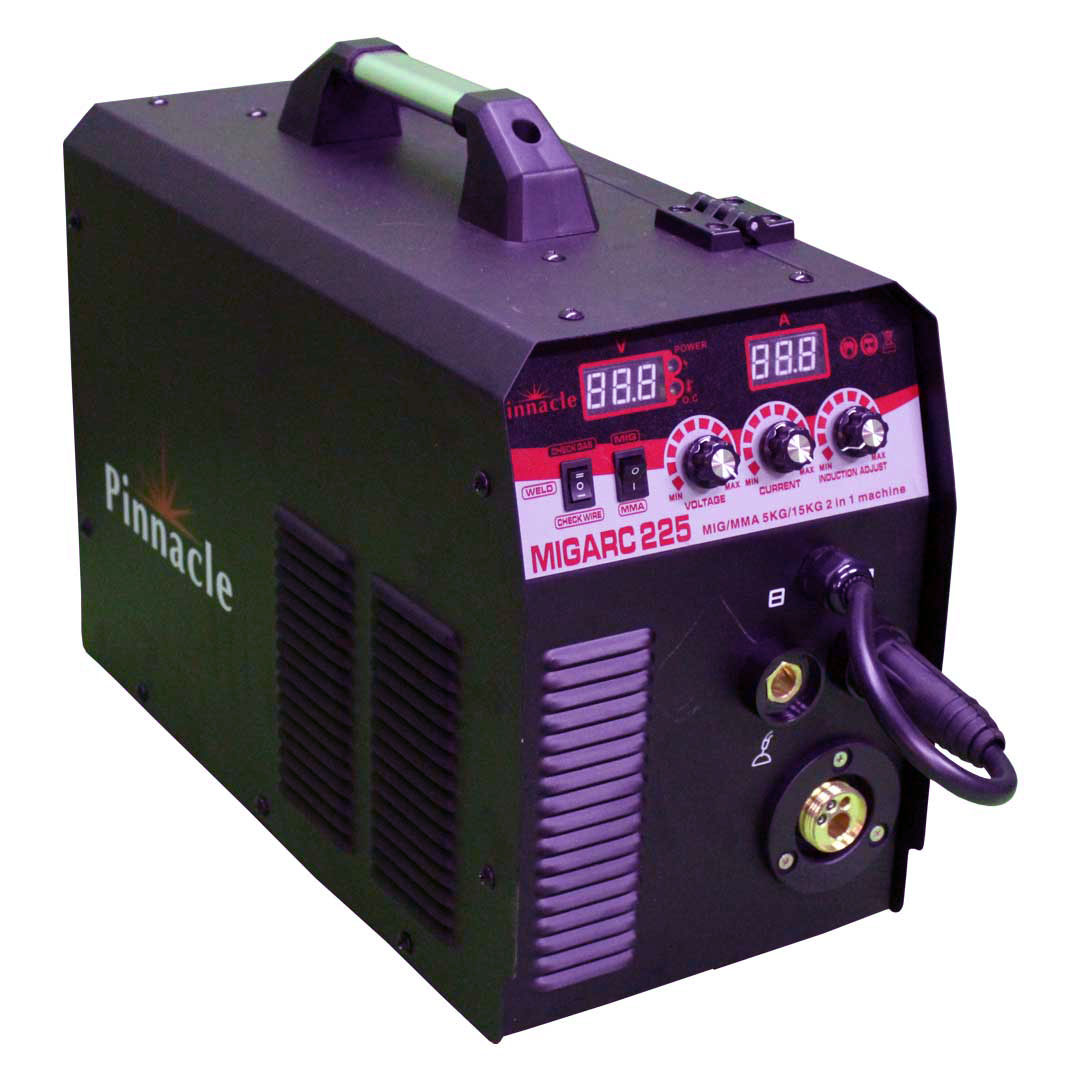 Pinnacle MIGARC 225 5kg/15kg MIG-ARC Welding Inverter