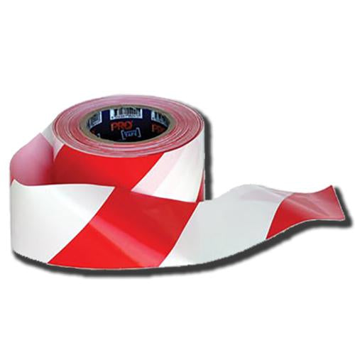 Red & White Barrier Tape