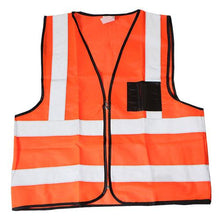 Load image into Gallery viewer, Reflective Safety Vest Orange