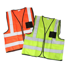 Load image into Gallery viewer, Reflective Safety Vest - Lime