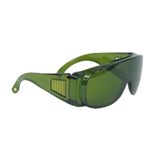 Green Safety Glasses Spectacles Wrap around