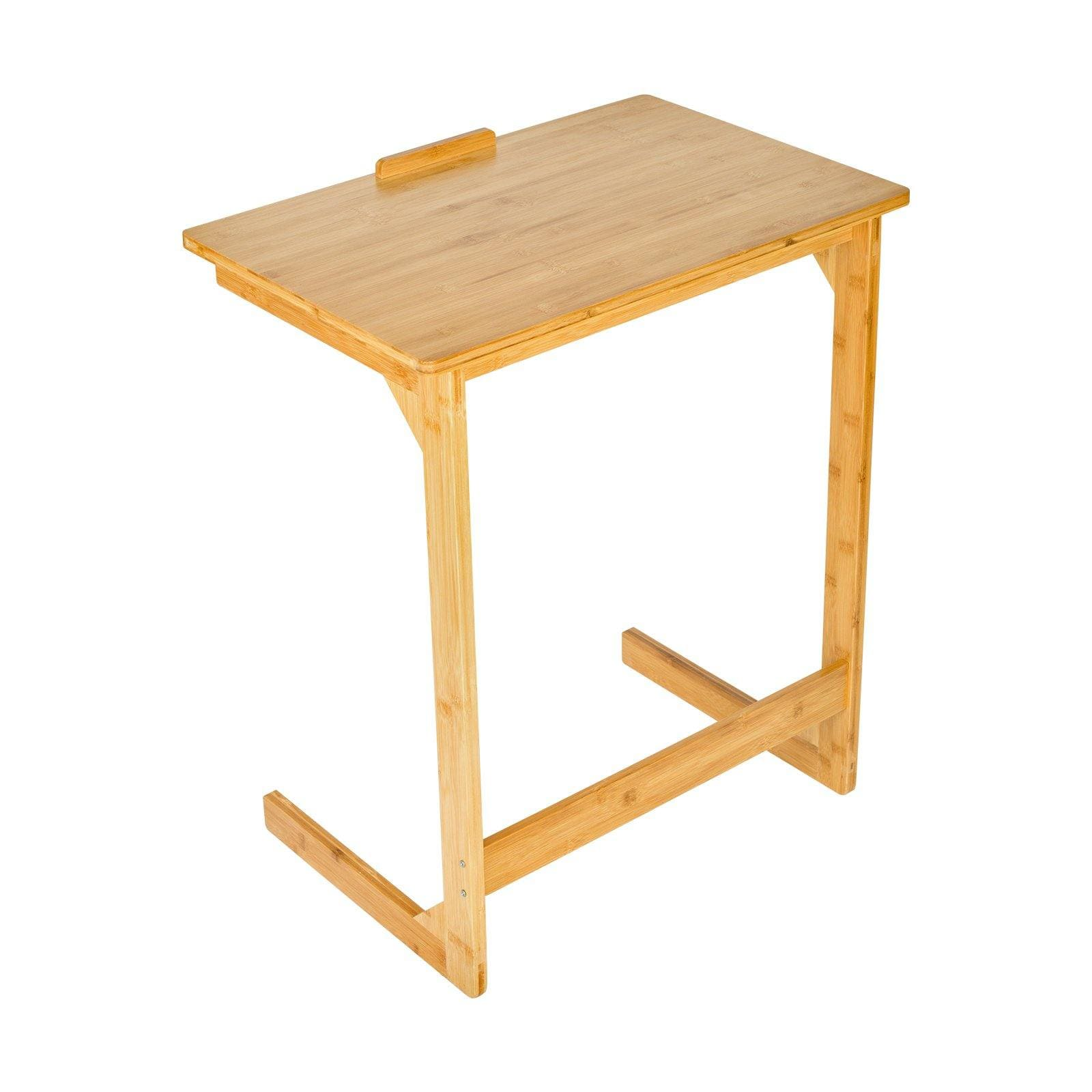 Bamboo Side Table - Elecwish