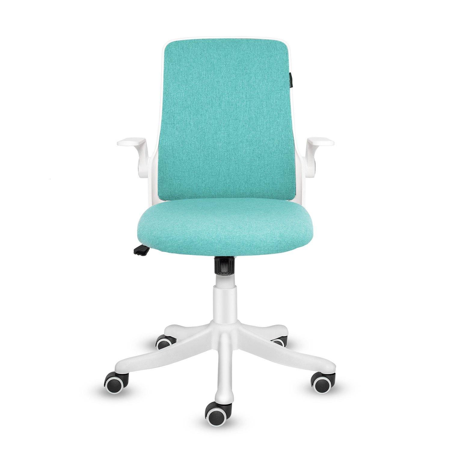Seat Adjustable with Flip-up Armrests Office Chair