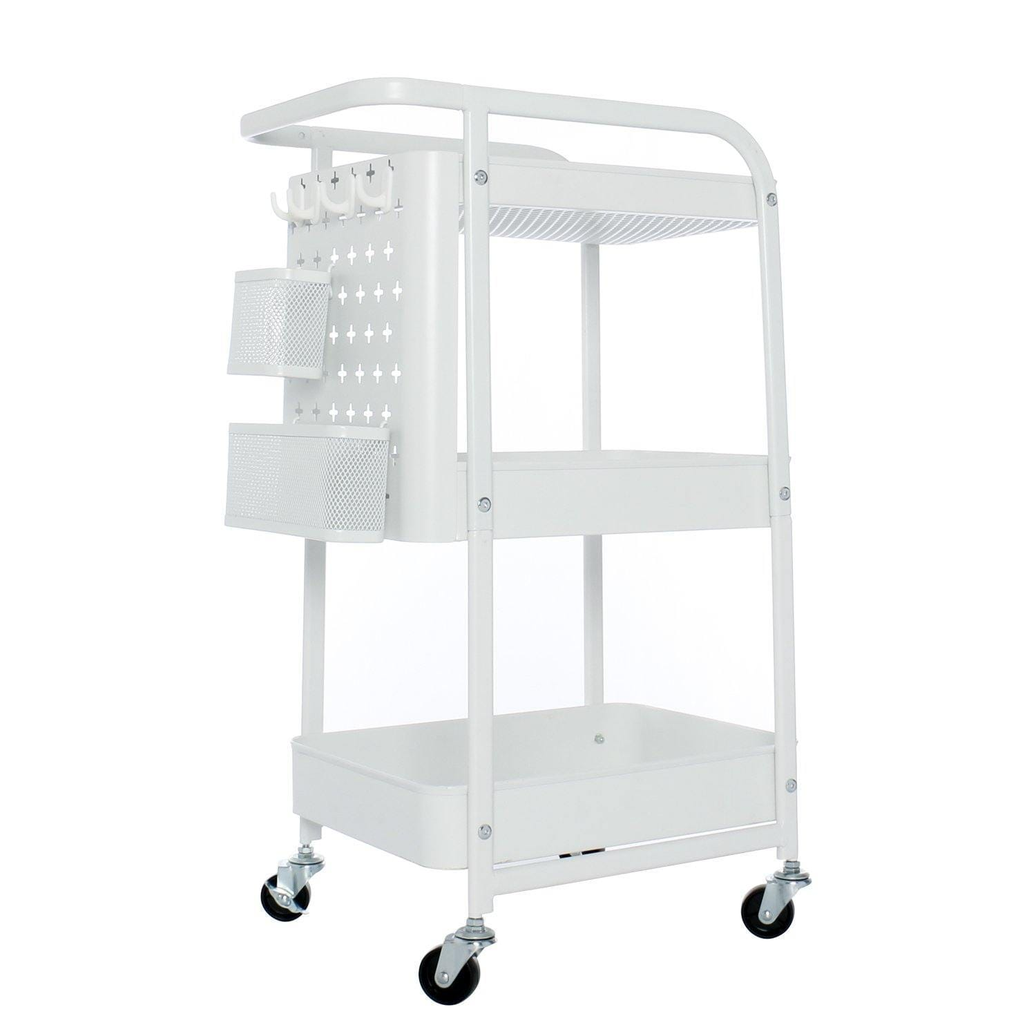 3 Tier Metal Storage Utility Cart