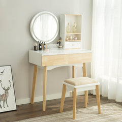 Makeup Vanity Table Set