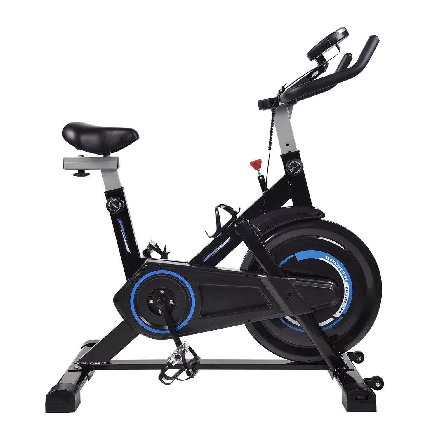 ELECWISH Indoor Workout Bike  With Monitor Display